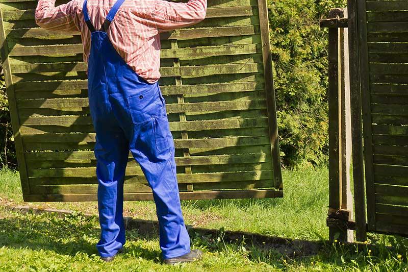 Gartenzaun kaufen oder selber machen?