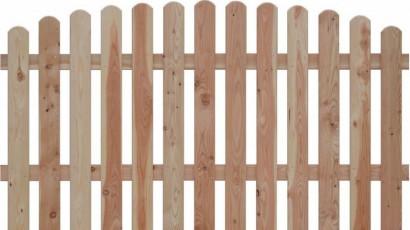 Lattenzaun aus Holz - klassisch und stilvoll